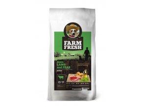 Farm Fresh Lamb & Peas Grain Free 10kg