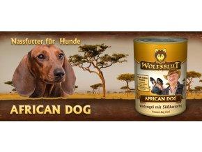 Wolfsblut Konzerva African Dog 395 g