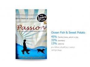 DLG Passion Ocean Fish & Sweet Potato - Grain Free - 13 kg