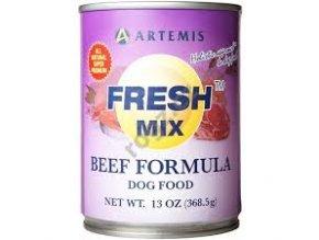 Konzerva Artemis Fresh Mix Beef Dogs 370g
