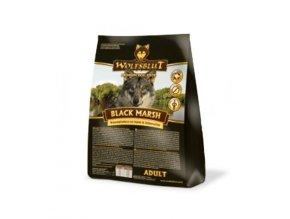 WOLFSBLUT BLACK MARCH 15kg - granule pro psa z vodního bůvola