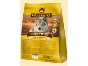 WOLFSBLUT GOLD FIELD 15kg - granule pro psa z velblouda a pštrosa