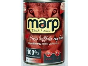 Marp Pure Buffalo konzerva pro psy 400g