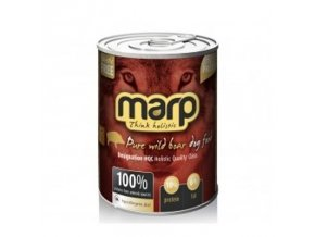 Marp Pure Wilde Boar konzerva pro psy 400g