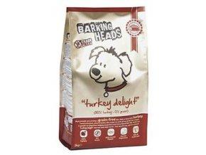 BARKING HEADS Turkey Delight GRAIN FREE 2kg