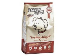 BARKING HEADS Turkey Delight GRAIN FREE 6kg