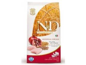 N&D Low Grain DOG Adult Maxi Chicken & Pomegr 2,5kg