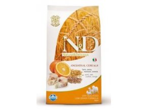 N&D Low Grain DOG Adult Maxi Codfish & Orange 2,5kg