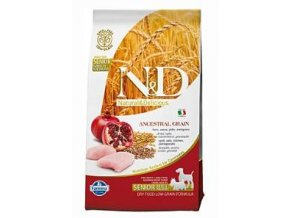 N&D Low Grain DOG Senior S/M Chicken & Pomegrante 800g