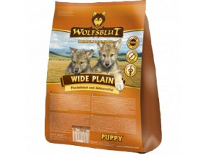 WOLFSBLUT Wide Plain Puppy 500g
