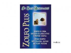 Iv San Bernard Krémový šampon ZOLFO PLUS - na lupy a parazity 1L