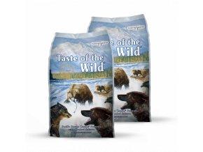 Dvojbalení Taste of the Wild Pacific Stream Canine 13kg