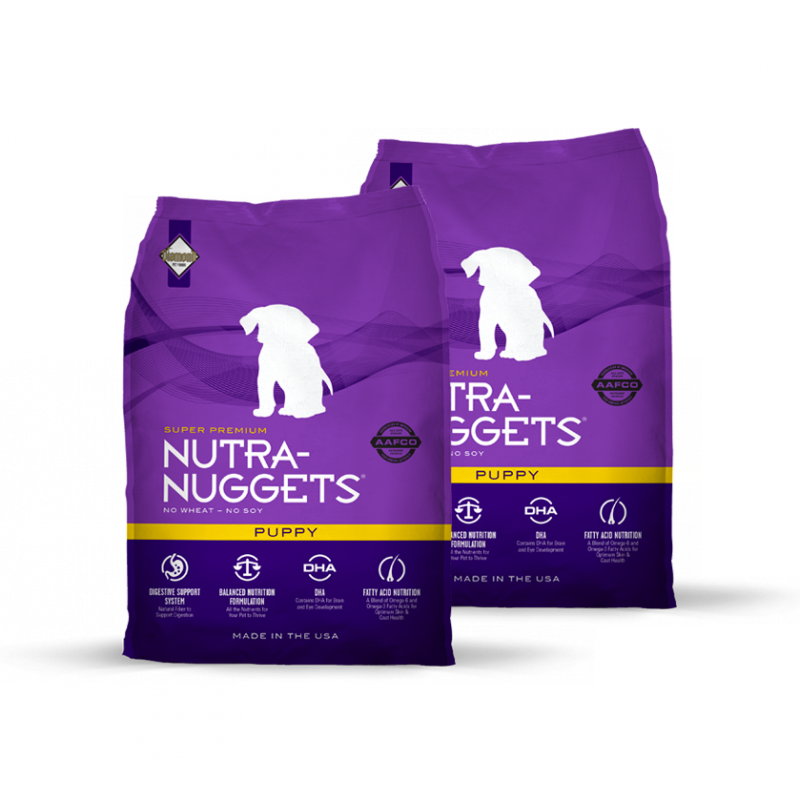 Dvojbalení Nutra Nuggets Puppy 15 kg
