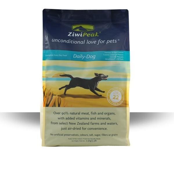 ZiwiPeak ZVĚŘINA & RYBA 2,5 kg