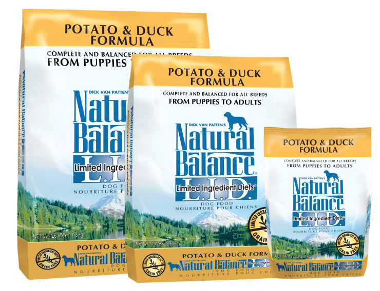 Natural Balance L.I.D. Duck & Potato Formula 12,7 Kg