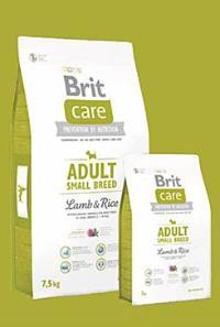 Brit Care Dog Adult Small Breed Lamb & Rice Váha: 1.0 Kg