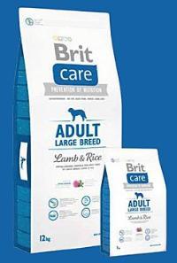 Brit Care Dog Adult Large Breed Lamb & Rice Váha: 3,0 Kg