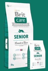 Brit Care Dog Senior Lamb & Rice Váha: 12 Kg