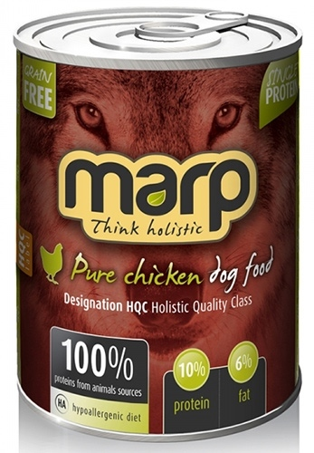 Marp Pure Chicken konzerva pro psy Váha: 400 G