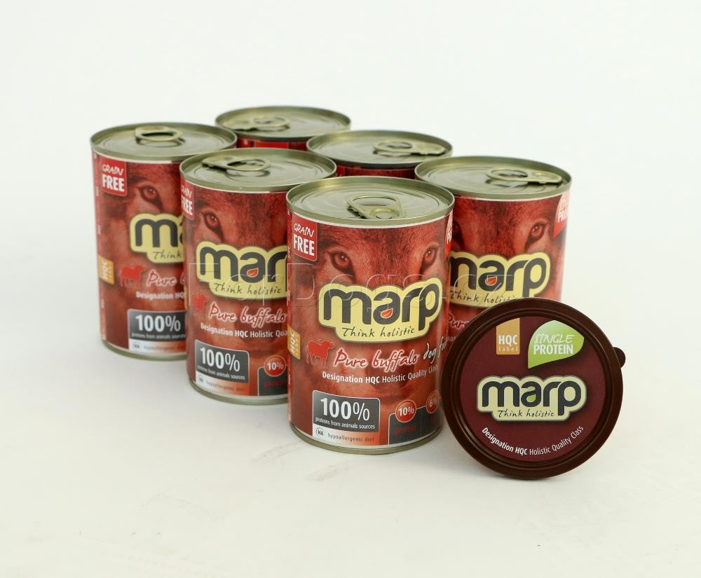 Marp Pure Buffalo konzerva pro psy 6x400g