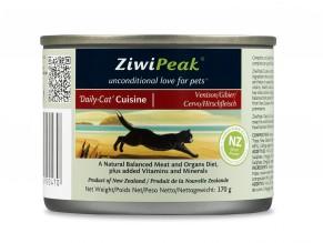 Masová konzerva ZiwiPeak ZVĚŘINA 170g