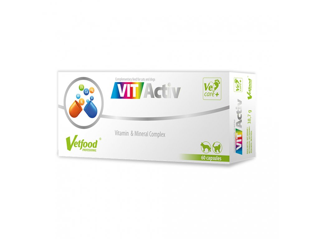 vitaktiv vitaminy pre psov a macky dogee