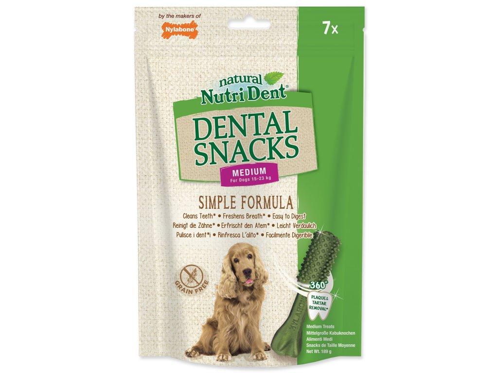 Nutri zubna kefka pre psov dogee medium
