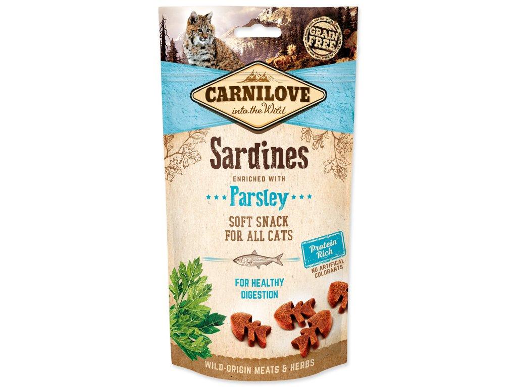carnilove maskrty pre macky dogee sardinky