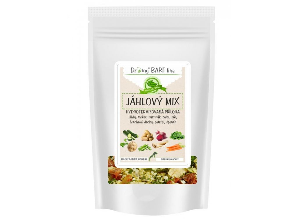 dromy jahlovy mix zo zeleninou dogee