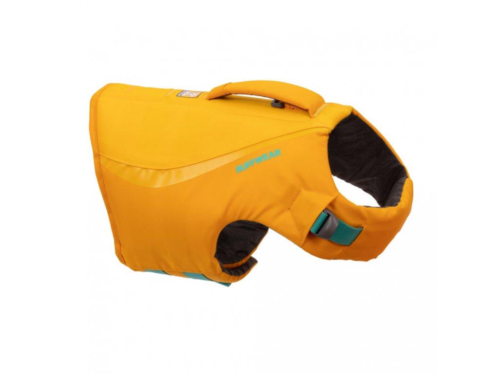plavacia vesta pre psa Ruffwear float coat wave orange01