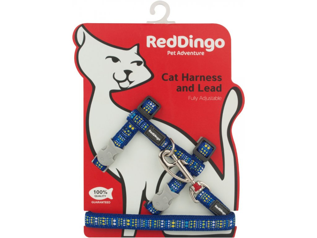 red dingo postroj pre mačku dogee lotzadotz Blue