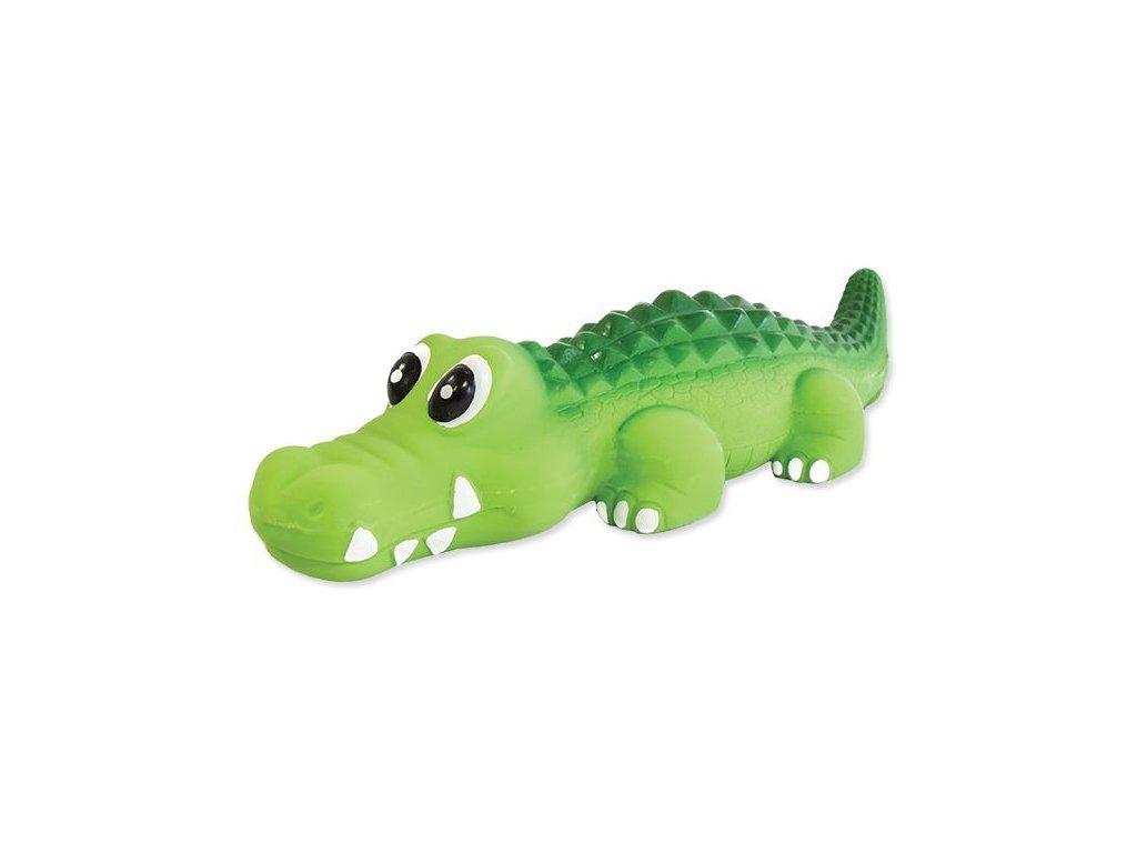 0195697 hracka dog fantasy latex krokodyl se zvukem 21 cm 600