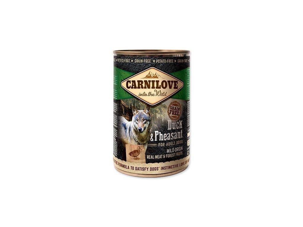 carnilove wild meat duck pheasant 400 g