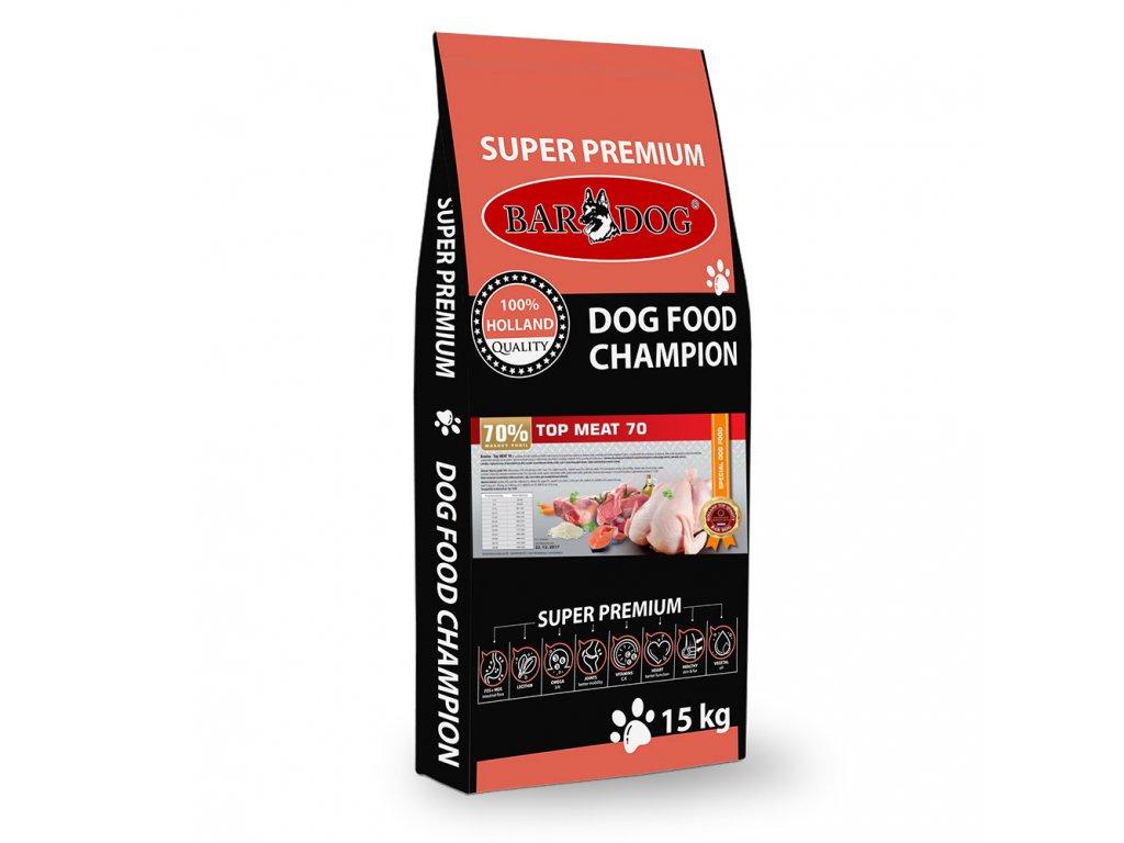 Bardog granule pre psov top meat