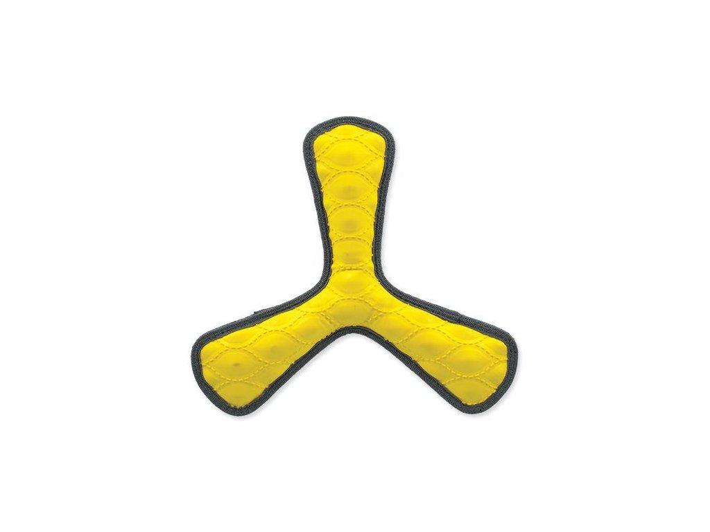 vrtuľa žltá 25 cm hračka pre psov dogee sk