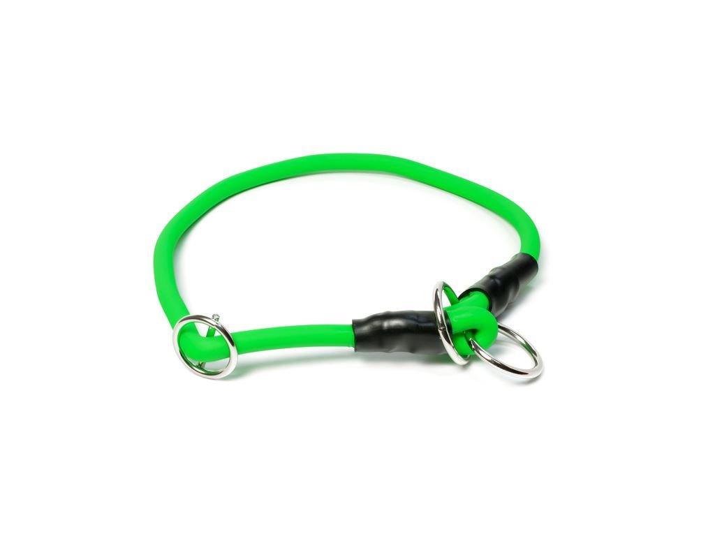 biothanovy obojok pre psa dogee sk neon zeleny