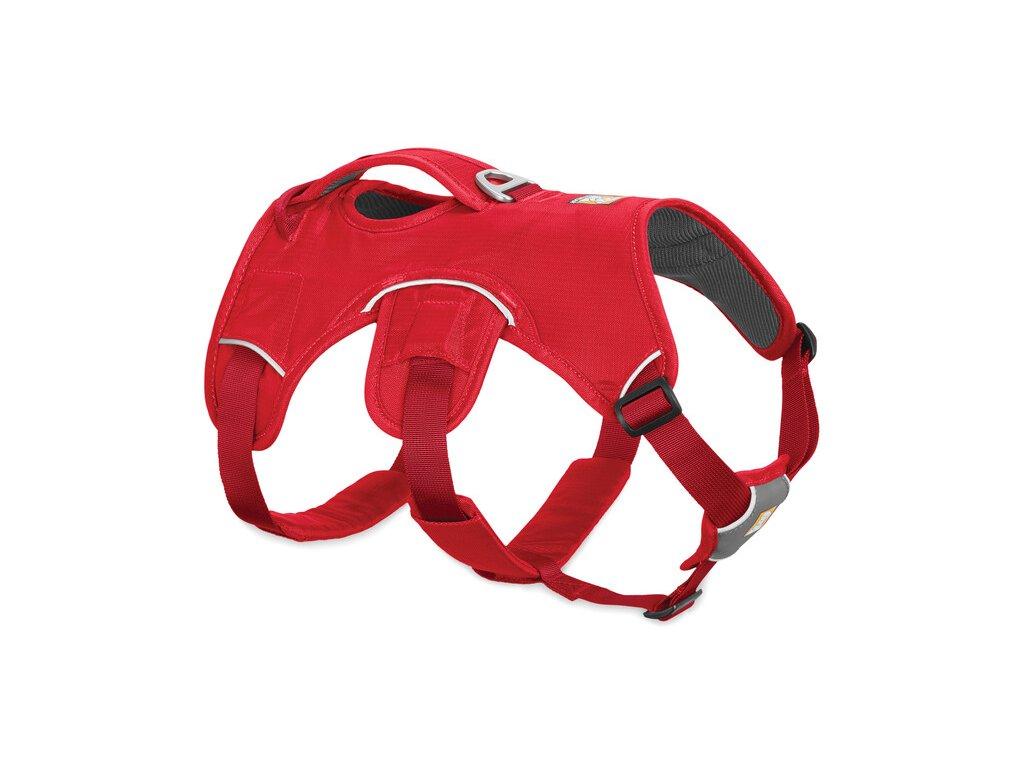 ruffwear postroj pre psy web master red Currant