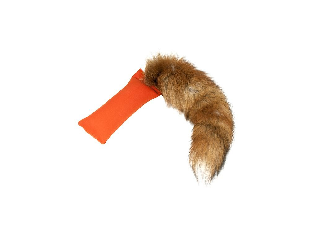 mystique dummy fox tail je maly dummy so skutocnym liscim chvostom