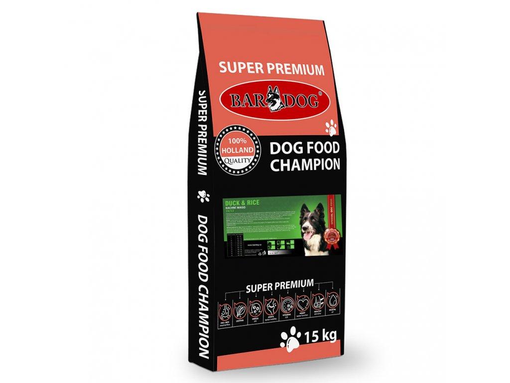 Bardog granule pre psov duck rice dogee