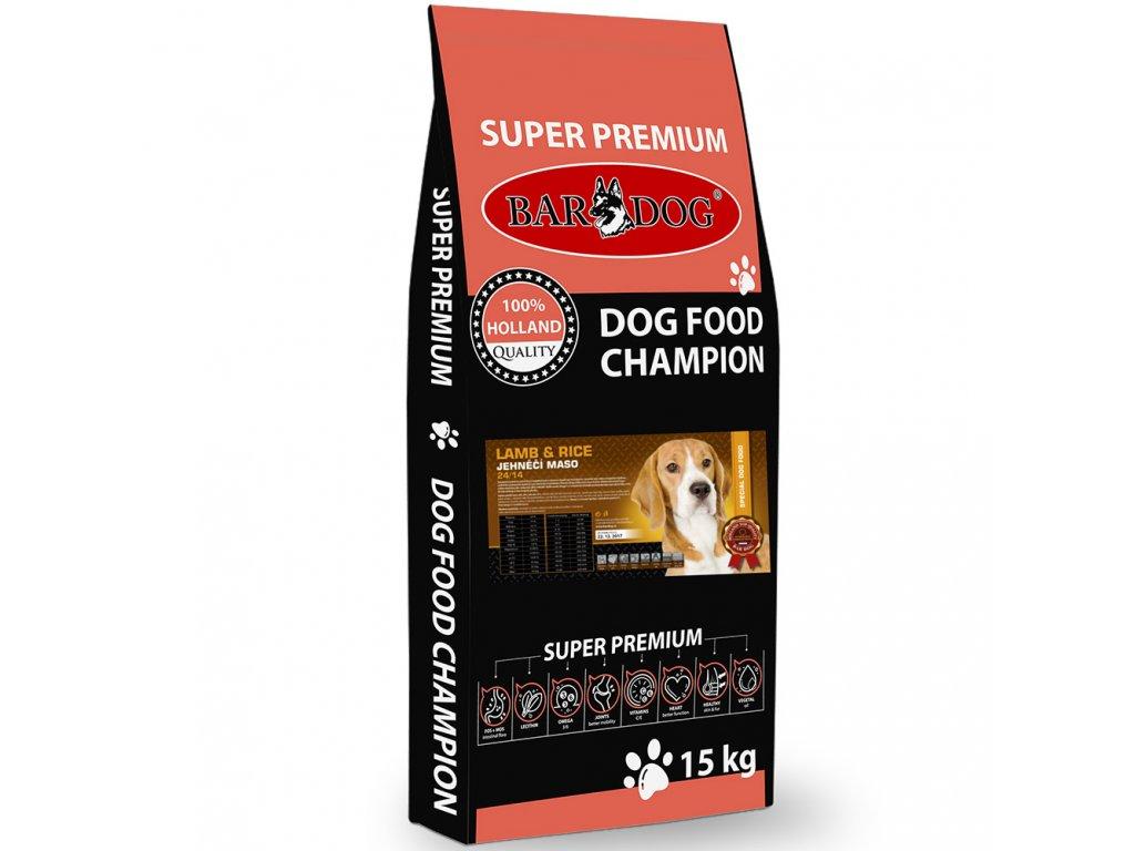 Bardog granule pre psov lamb rice dogee