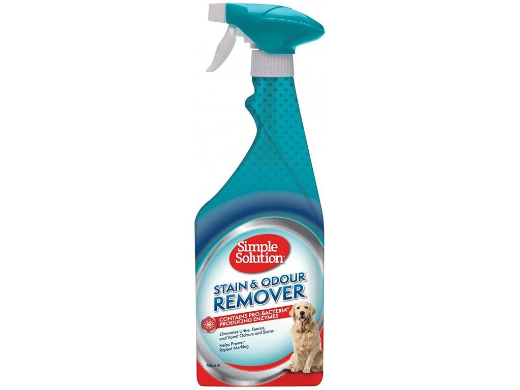 stain and odor remover enzymaticky odstranovac skvrn a pachu pre psy 750ml