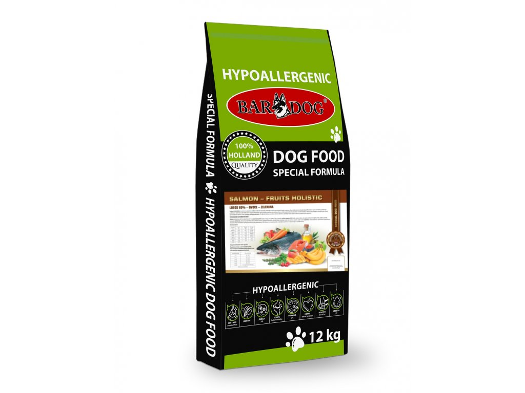 Bardog granule pre psov salmon holistic fruits