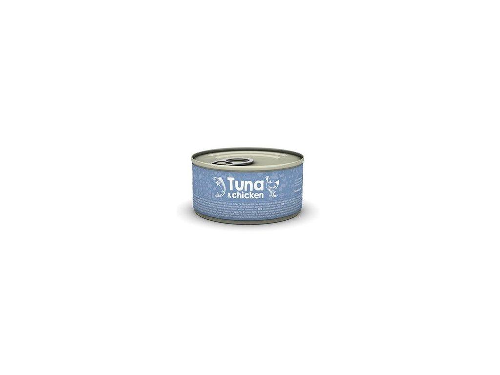 naturea cat tuniak kura 80g dogee sk