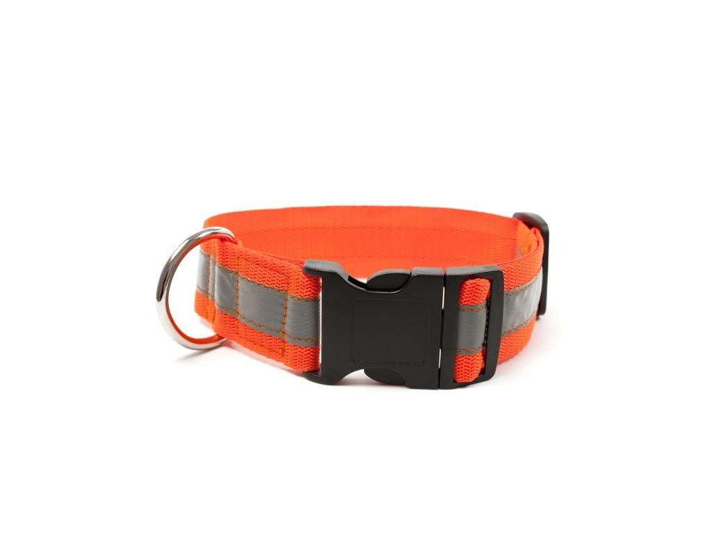 mystique reflexny obojok klik pracka vdaka reflexnemu pruhu poskytuje vasmu psovi maximalnu bezpecnost za sumraku alebo v noci a pri osvetleni je viditelny zo vzdialenosti az 150 m