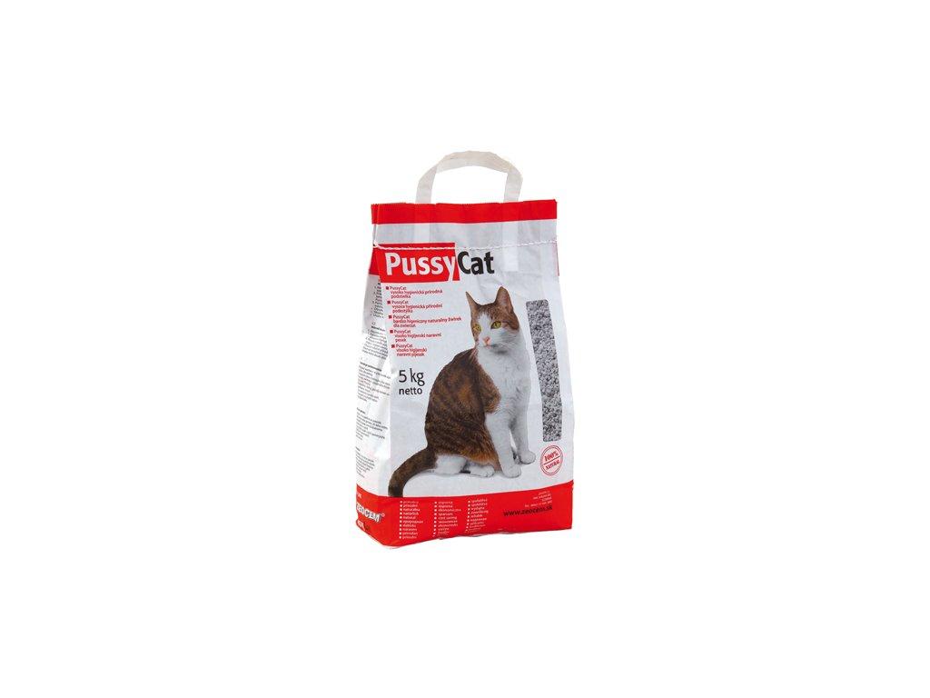 podstielka pre macku mineralna pussy Cat