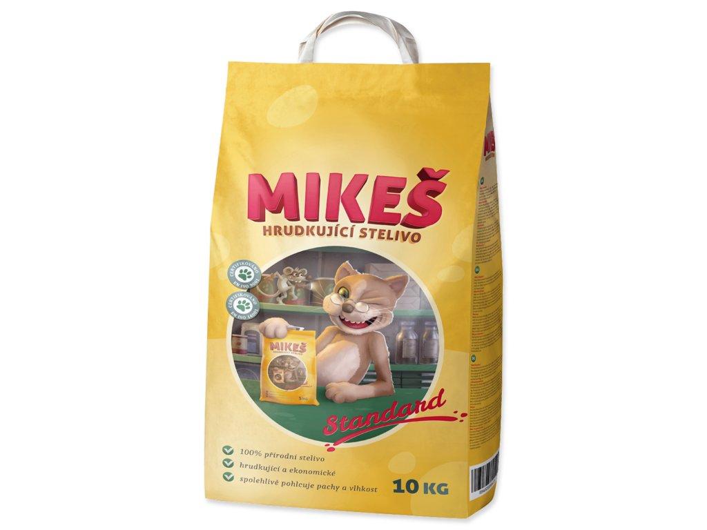mikeš podstielka pre mačky 10kg