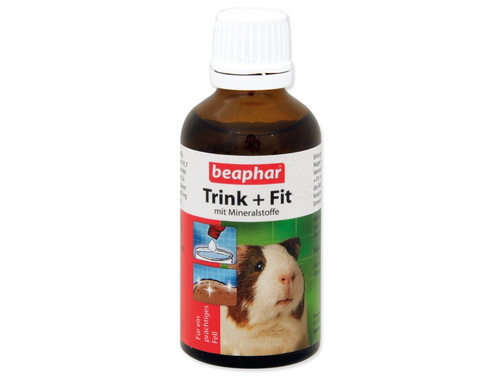 beaphar trink fit vitamin pre male hlodavce dogee sk