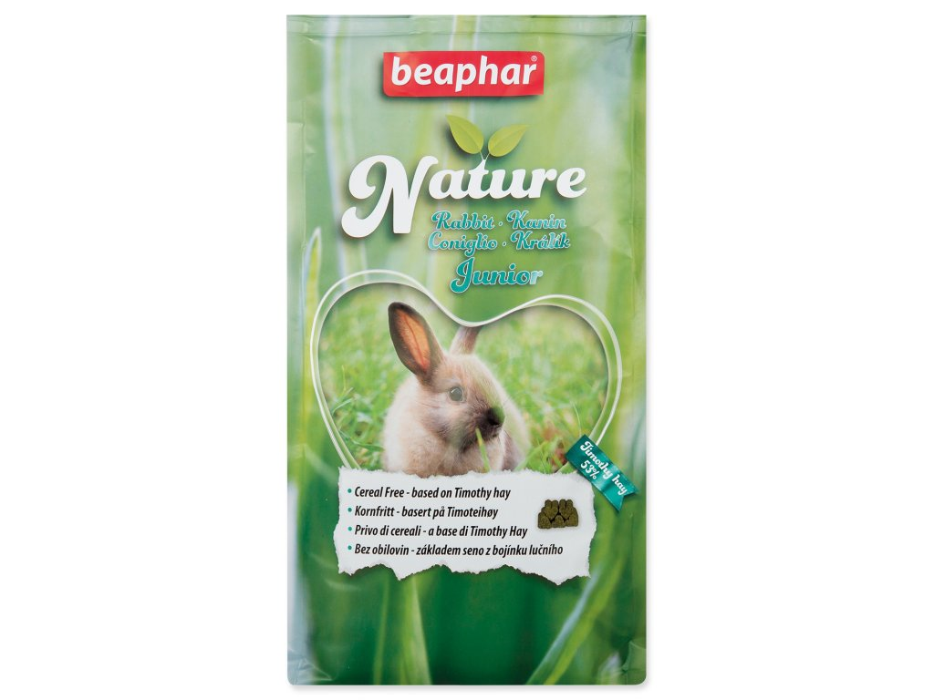 BEAPHAR Nature Rabbit Junior dogee sk