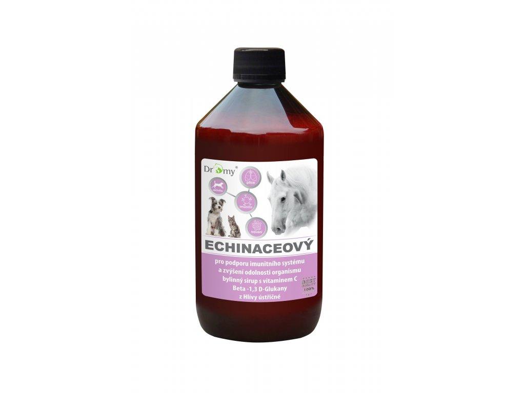 dromy echinaceovy olej pre psy mačky kone