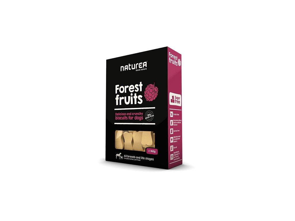 naturea lesní ovoce keksy prepsy